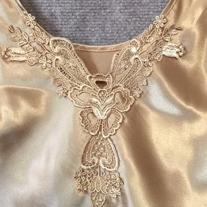 California Dynasty Intimates & Sleepwear - California dynasty camisole so S to M gold.